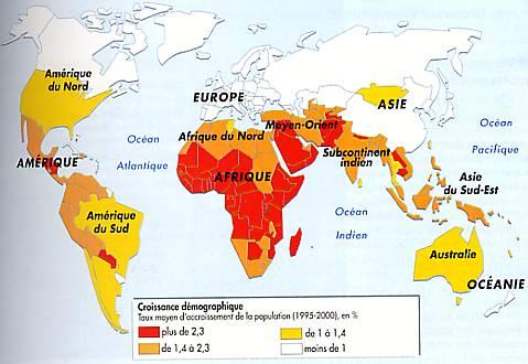 Carte Accroissement Naturel Asie.Document Sans Titre